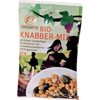 Bio snack mix semi misti soia zucca girasole Landgarten