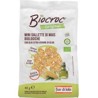Biocroc olio extravergine di oliva senza glutine BIO Fior di Loto