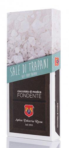 Cioccolato di Modica al sale di Trapani Antica Dolceria Rizza