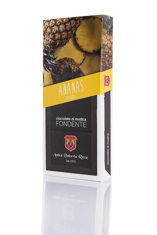 Cioccolato di Modica Ananas Antica Dolceria Rizza