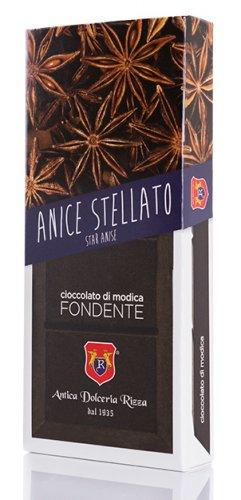 Cioccolato di Modica Anice stellato Antica Dolceria Rizza