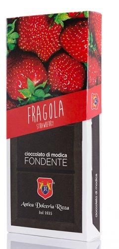Cioccolato di Modica Fragola Antica Dolceria Rizza