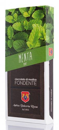 Cioccolato di Modica Menta Selvatica Bio Antica Dolceria Rizza
