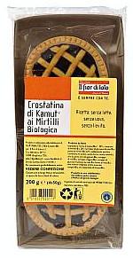 Crostatine di Grano Khorasan Kamut e Mirtilli Bio Fior di Loto