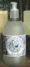 Detergente liquido Marsiglia con Olio Essenziale di Lavanda Carone