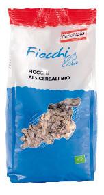 Fiocchi ai 5 Cereali Integrali Bio Fior di Loto