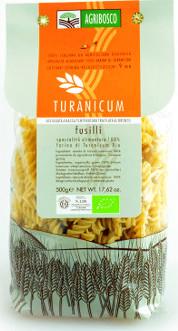 Fusilli di Triticum Turanicum Bio Trafilati al Bronzo Agribosco