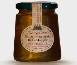 Miele di Astragalo Nebrodensis dell Ape Nera Sicula Carlo Amodeo