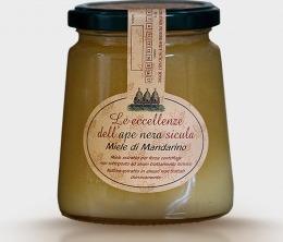 Miele di Mandarino Tardivo di Ciaculli dell Ape Nera Sicula Carlo Amodeo
