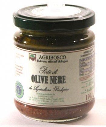 Pate di Olive Nere Bio  Agribosco