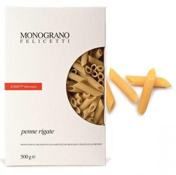 Penne Rigate di grano Khorasan Kamut Trafilate al Bronzo Monograno Felicetti
