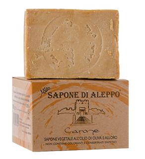 Sapone di Aleppo Vegetale all Olio di Oliva e Olio di Alloro  Carone
