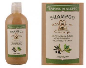 Shampoo Sapone di Aleppo lavaggi frequenti Carone