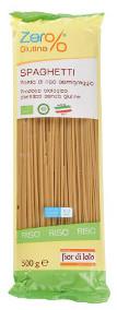 Spaghetti di Riso Semigreggio Bio Fior di Loto