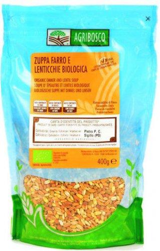 Zuppa Farro e Lenticchie Bio Filiera Controllata  Agribosco