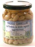 Fagioli Cannellini dell Umbria in brodo vegetale Bio  Agribosco