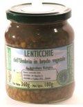 Lenticchie dell Umbria in brodo vegetale Bio  Agribosco