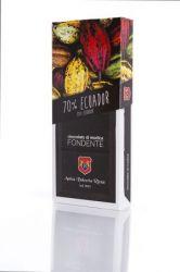 Cioccolato di Modica Fondente 70% Mono Origine Ecuador Antica Dolceria Rizza