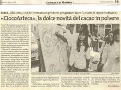 Cioco Atzeca Cannella Antica Dolceria Rizza