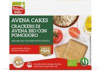 Avena cakes - crackers di avena con pomodoro La finestra sul cielo