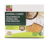 Avena cakes - crackers di avena con sesamo La finestra sul cielo