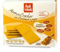 Avena cracker con curcuma e pepe - linea benessere Baule volante