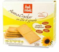 Avena cracker con olio di girasole - linea benessere Baule volante