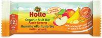 Barretta di frutta mela-banana Holle