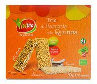 Barrette croccanti multipack di quinoa Vivibio