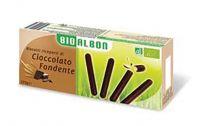 Bastoncini ricoperti di cioccolato fondente Bioalbon