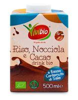 Bevanda riso nocciola e cacao drink Vivibio