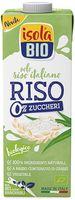 Bevanda riso zero zuccheri Isola bio