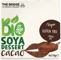Bio soya - dessert di soia al cacao The bridge