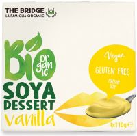 Bio soya - dessert di soia alla vaniglia The bridge