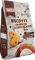 Biscotti con gocce di cioccolato Fior di loto