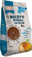 Biscotti integrali con cacao Fior di loto