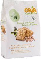 Biscotti integrali d'avena Gaia bioalimenti