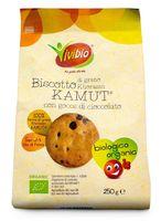 Biscotto di grano khorasan kamut con gocce di cioccolato Vivibio