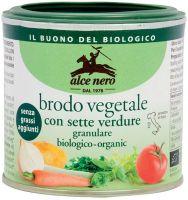Brodo vegetale granulare senza grassi Alce nero