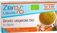 Brodo vegetale in dadi Zer%lievito