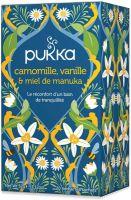 Chamomile vanilla & manuka honey Pukka