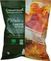 Chips di carote con timo Croustisud