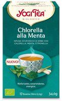 Chlorella menta Yogi tea