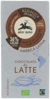 Cioccolato al latte Alce nero fairtrade