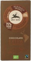 Cioccolato extra fondente Alce nero fairtrade