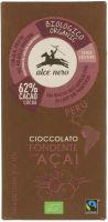 Cioccolato fondente con acai Alce nero fairtrade