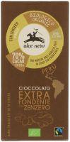 Cioccolato fondente con zenzero Alce nero fairtrade