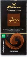 Cioccolato mascao fondente extra 70% Altromercato