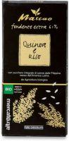 Cioccolato mascao fondente extra alla quinoa e riso Altromercato