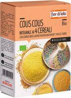 Cous cous ai quattro cereali Fior di loto